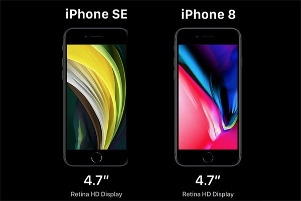 Đánh giá màn hình iPhone SE 2020