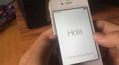 Khôi phục lại cài đặt gốc iPhone 5