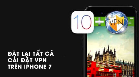 Cài đặt lại tất cả cài đặt VPN cho iPhone 7 có khó không?