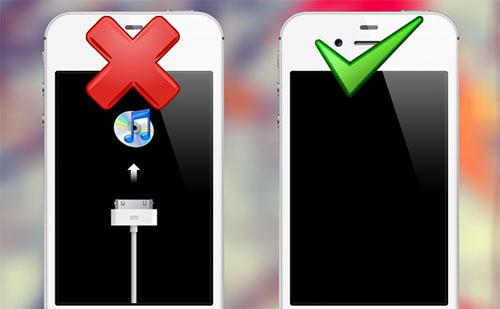 Đưa iPhone 5 về chế độ DFU để restore
