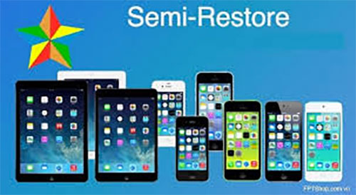 Restore iPhone 7 bằng phần mềm Semi