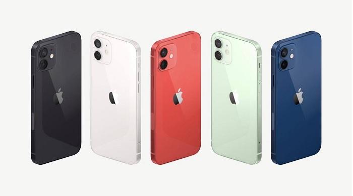 iPhone 12 có mấy màu?