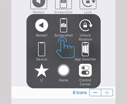 Cách chụp ảnh màn hình iPhone X (2)