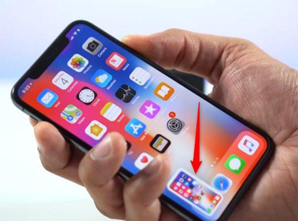 Cách chụp ảnh màn hình iPhone X (3)