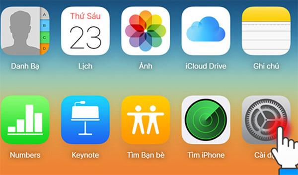 Cách lấy lại ảnh đã xoá trên iphone bằng iCloud (1)