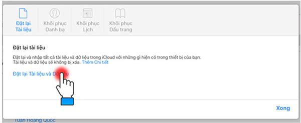 Cách lấy lại ảnh đã xoá trên iphone bằng iCloud (3)