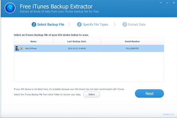 Lấy lại ảnh đã xóa trên iPhone từ iTunes