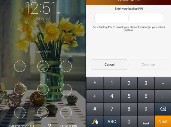 Cách mở khóa điện thoại khi quên mật khẩu bằng mã PIN