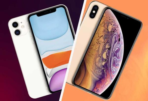 So sánh màn hình hiển thị iPhone 11 và iPhone XS