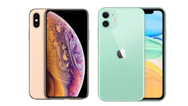 So sánh iPhone 11 và iPhone Xs