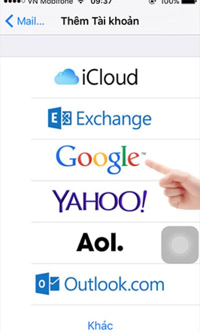 Cách chuyển danh bạ từ iPhone sang Android