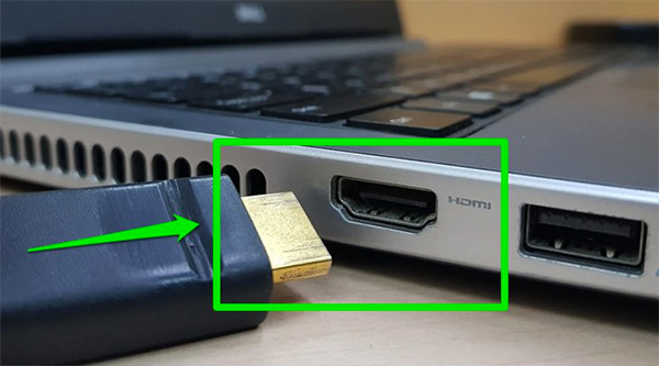 Lỗi kết nối laptop với tivi qua HDMI