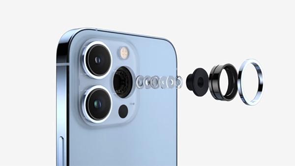 Camera của iPhone 13 Pro Max có nhiều cải tiến