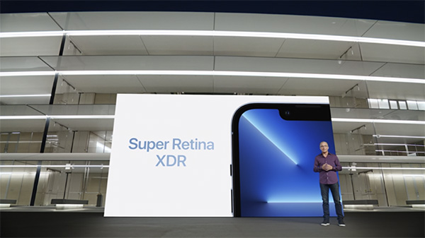 Công nghệ Super Retina XDR của màn hình iPhone 13 Pro Max mang lại chất lượng hiển thị tốt