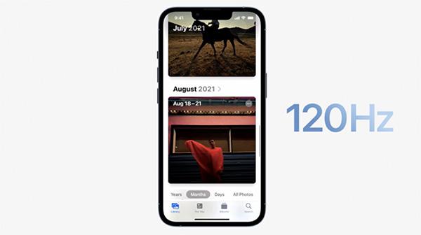Màn hình iPhone 13 Pro Max mang lại trải nghiệm mượt mà