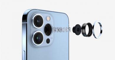 Hệ thống camera trên iPhone 13 Pro Max.