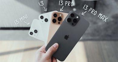 iPhone 13 Series không bán kèm phụ kiện tai nghe và bộ sạc